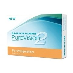 Контактные линзы Pure Vision 2 HD for astigmatizm (3шт.)