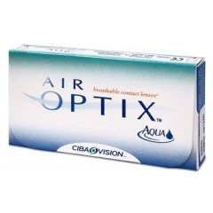 Контактные линзы Air Optix AQUA (6шт.)
