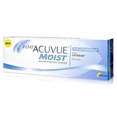 Контактные линзы Контактные линзы Acuvue 1-day Moist for Astigmatism (30шт.)