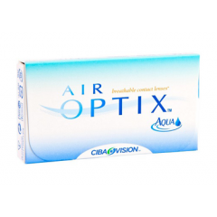 Контактные линзы Air Optix AQUA (3шт.)