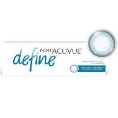 Контактные линзы Контактные линзы Acuvue 1-day Define