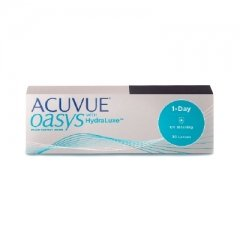 Контактные линзы Acuvue Oasys 1-Day with HydraLuxe (30 шт.)