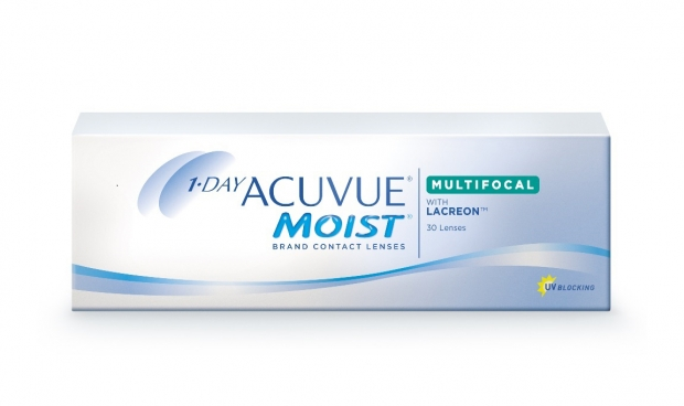 Контактные линзы Acuvue 1-Day Moist Multifocal (30 шт.)