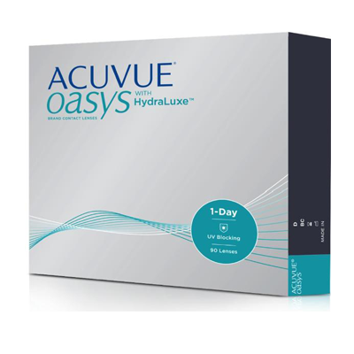 Контактные линзы Acuvue Oasys 1-Day with HydraLuxe (90 шт.)
